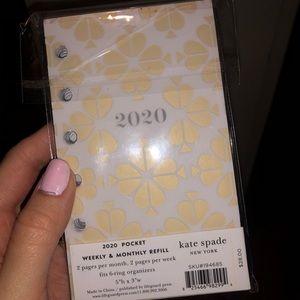 Official Kate Spade 2020 Planner Refills